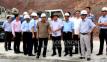 Đoàn công tác của Bộ Nông nghiệp và Phát triển nông thôn kiểm tra dự án hồ chứa nước Bản Lải
